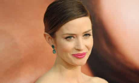 Emily Blunt at premiere of The Five-Year Engagement