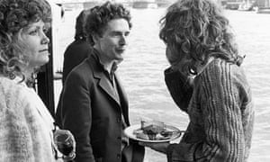 Malcolm McLaren and Richard Branson