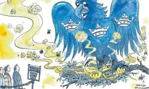 Barclays cartoon by Dave Simonds