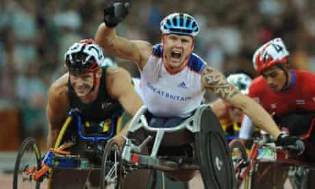 GB Paralympian David Weir