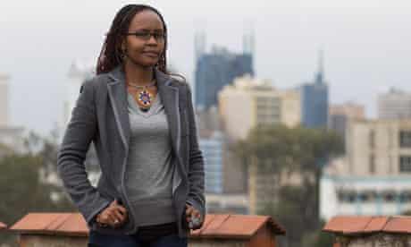 Julian Rotich, creator of Ushahidi website in Kenya