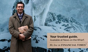 CEO John Ridding of the Financial Times