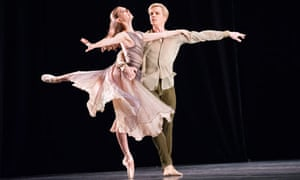 Sarah Van Patten and Tiit Helimets of the San Francisco Ballet at Sadler's Wells