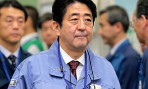 Japan's new Prime Minister Shinzo Abe