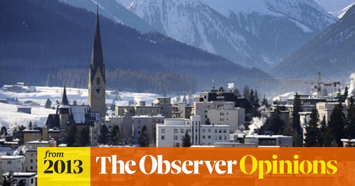 Davos prepares for dose of daftness   Business   The Guardian