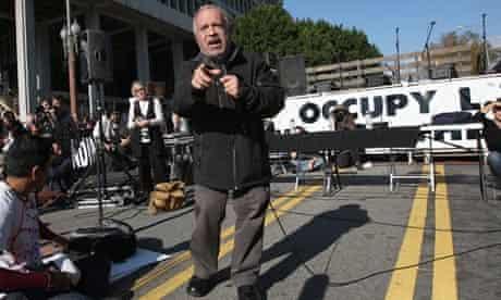 Robert Reich addresses Occupy rally