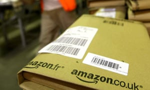 Amazon fullfillment centre near Milton Keynes, Britain - Nov 2007