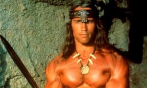 Arnold Schwarzenegger in Conan the Barbarian 1982