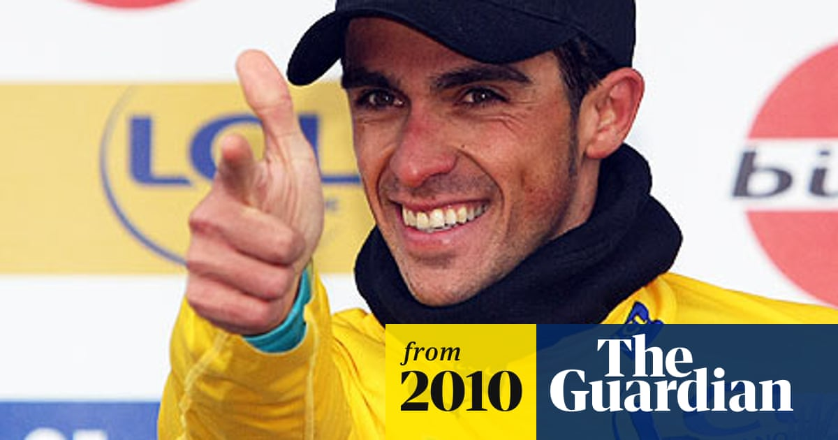 Alberto Contador Snatches Fourth Stage And Yellow Jersey