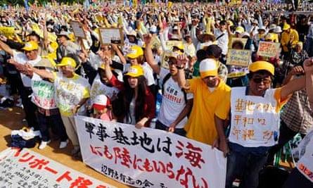 okinawa protests
