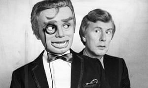 Ventriloquist Ray Alan With Lord Charles