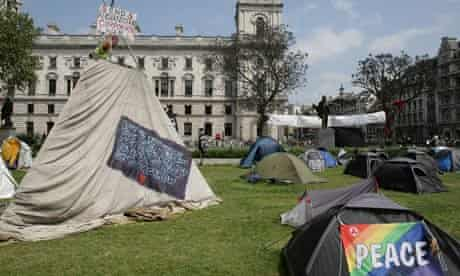 parliament square peace camp
