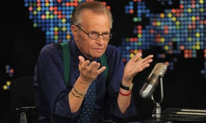 Larry King speaks during Larry King Live: Disaster in the Gulf Telethon
