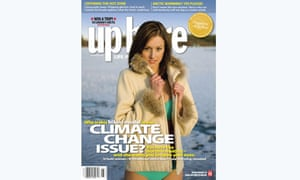 Up Here magazine cover