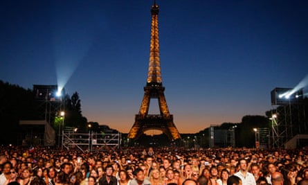 Champ de Mars, Paris, Bastille Day