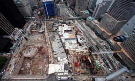 world trade centre ground zero new york reconstruction