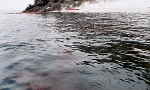 Deepwater Horizon BP Oil spill in the Gulf of Mexico