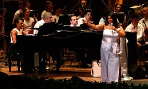Aretha Franklin & Condoleezza Rice In Concert - July 27, 2010