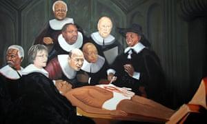 Nelson Mandela painting by Artist Yiull Damaso