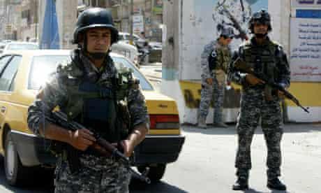 Iraqi soldiers Baghdad
