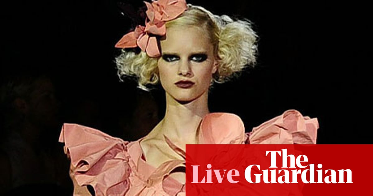 b9ae6fe5679 Fashion week live blog: 14 September | Kate Carter | Life and style ...