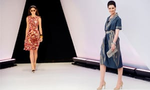 London Fashion Week, sustainable fashion, model and designer Erin O'Connor