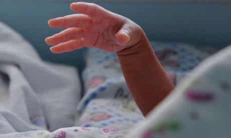 A newborn baby in Jiaxing, China