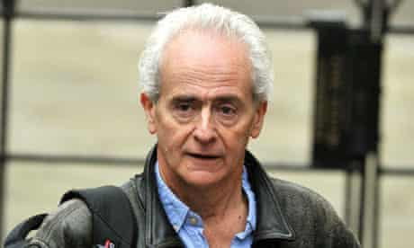 Guardian journalist Nick Davies arrives at the High Court  to give evidence to the Leveson Inquiry