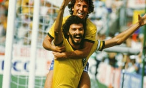 socrates and zico celebrate in the 1982 world cup match against italy
