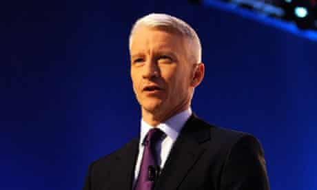 US television personality Anderson Cooper