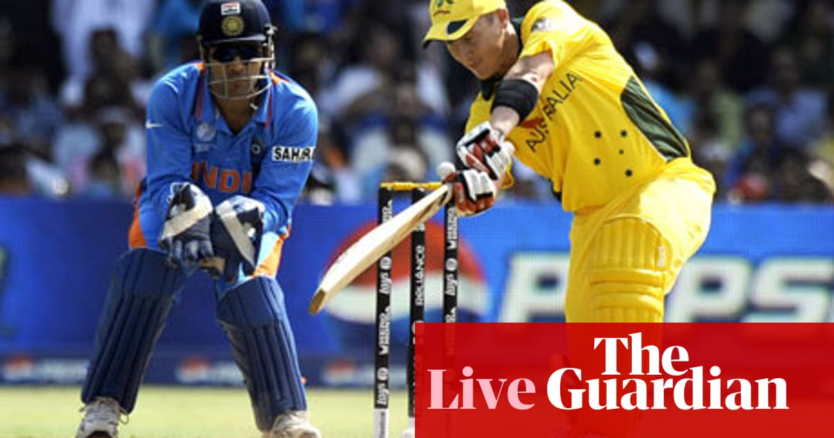 India v Australia – as it happened | Rob Smyth | Sport | The
