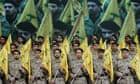 A Hezbollah rally in Beirut, Lebanon