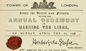 Tower of London april fool event in 1856