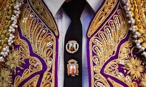 A bullfighter's tie in Madrid
