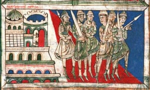 A detail from the 12th century Codex Calixtinus