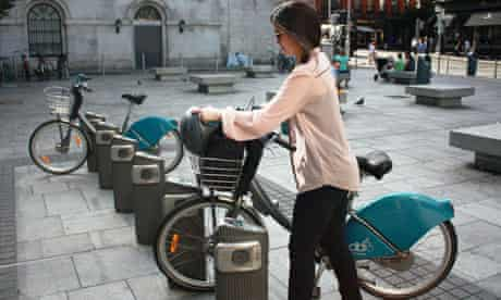 The cycle hire scheme in Dublin
