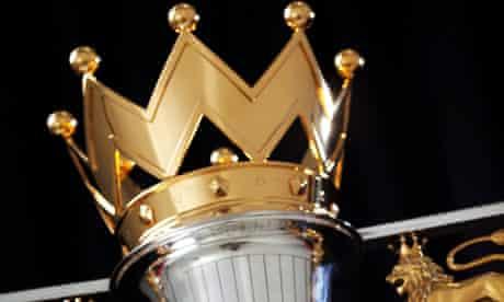 The Barclays Premier League trophy