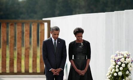 Barack Obama in Shanksville