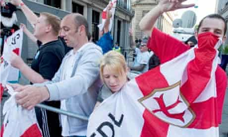 English Defence League Extremism Muslim Police