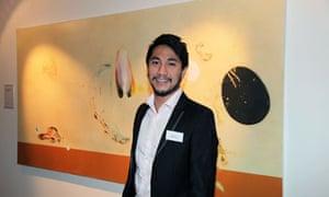 Nat Quinn winner of the £10,000 New Lights Art Prize