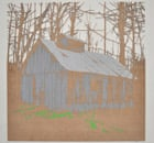 Old shack in forrest by Matt Spencer, shortlisted for the New Lights art prize