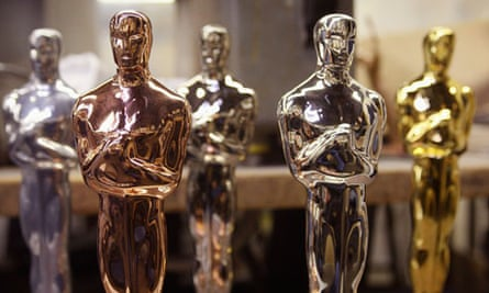 Oscar statuettes are plated in Chicago