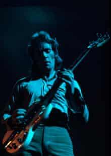 Bob Weston of  Fleetwood Mac in 1973