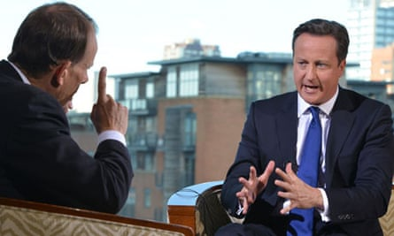 David Cameron speaks on the BBC's Andrew Marr Show