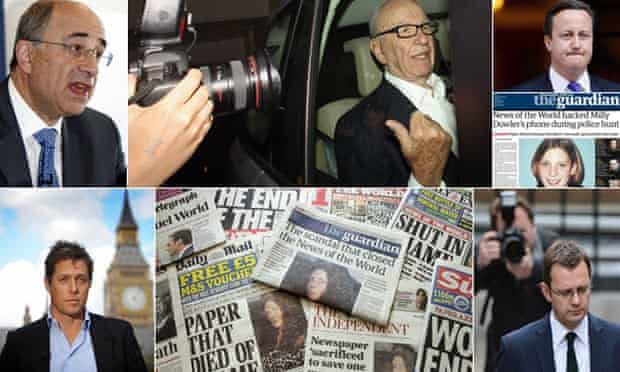 The Leveson inquiry into press standards