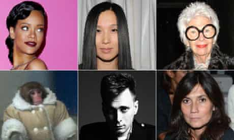 the fashion faces of 2012