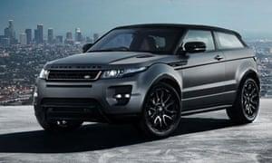 Range Rover Evoque special editon with Victoria Beckham