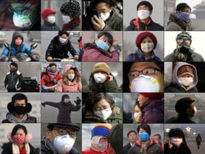 air pollution in Beijing, China
