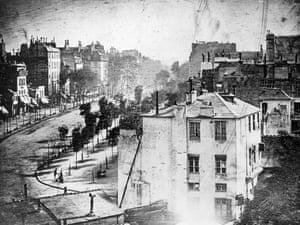 Boulevard du Temple, Paris by Louis-Jacques-Mandé Daguerre