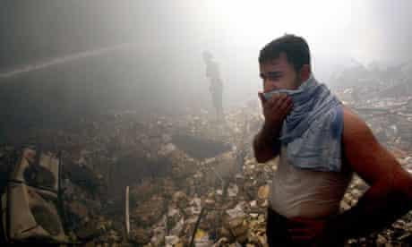 The bombing of Mutanabi book market in Baghdad, 2007